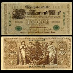 1910 Germany 500 Mark Note Better Grade (CUR-06666)