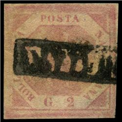1858 Naples 2g Stamp (STM-0958)