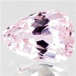 5.2ct Sparking Top Pink Kunzite Pear (GEM-43757)