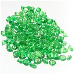 1.09ct Green Tsavorite Garnet Oval Cut Parcel (GEM-38429)
