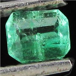 .22ct Top Clear Columbian Emerald Rectangle (GEM-32543)