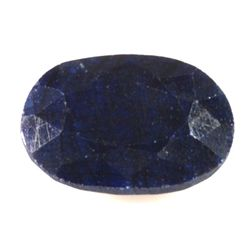 Natural African Sapphire Loose 53ctw Oval Cut