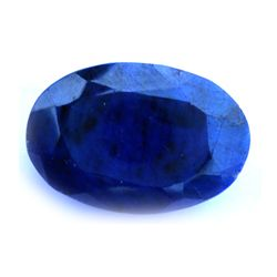 62.50 ctw Loose Sapphire Oval cut