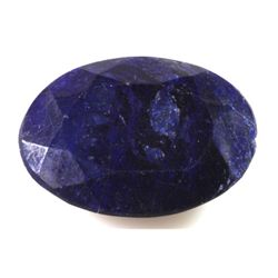 Natural African Sapphire Loose 53.5ctw Oval Cut