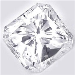 Diamond GIA Certified Square 0.51 ctw E,VVS2