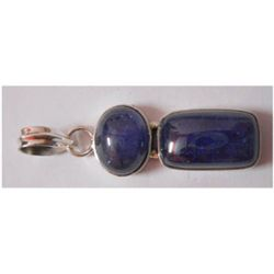 Natural 28.80 ctw Tanzanite Pendant 925 Sterling