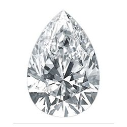 Diamond EGL Cert. Pear 0.91 ctw F, SI1
