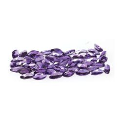 Natural Amethyst 5x2.5 ctw Marque