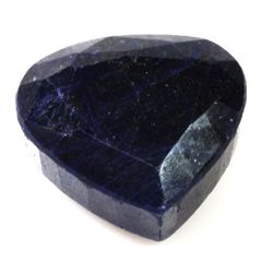 Natural 342.2ctw Sapphire Heart Stone