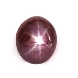 Natural Ruby Star Oval Cut Loose Gemstone 24.50ctw