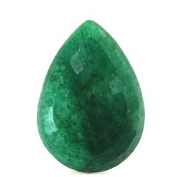 Natural 164.22ctw African Emerald Pear Shape Stone