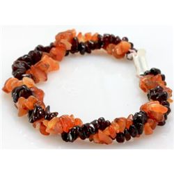 Mix Semi Precious Stone Bracelet with clasp