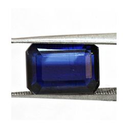 Natural Emerald Cut Kyanite Loose Stone 1.48 ctw.