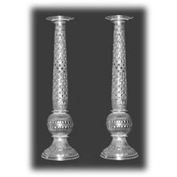965 Grams Aluminium Candle Stand Set