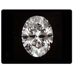 DIAMOND EGL CERTIFIED OVAL 2.64 CTW F, SI2