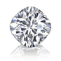 Diamond GIA Cert. Cushion 0.51 ctw E, VS1