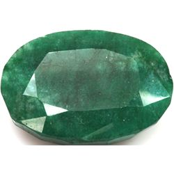 African Emerald Loose Gems 43.5ctw Oval Cut