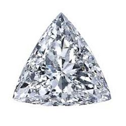 DIAMOND EGL CERTIFIED Triangle 2.00 CTW G, SI2