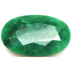 African Emerald Loose Gems 71.21ctw Oval Cut