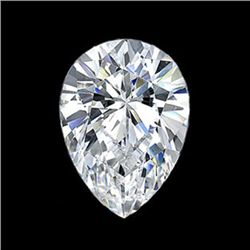 Diamond EGL Cert. Pear 1.10 ctw D, Si2