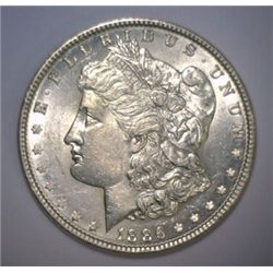 1886 Morgan Dollar MS, BU