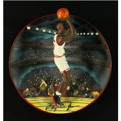 "Michael Jordan 7"" 3D UDA Bradford Exchange Collector Plate LE 1267/7200 ""Rim Rocker"""