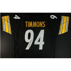 Lawrence Timmons Signed Steelers Jersey (JSA COA)