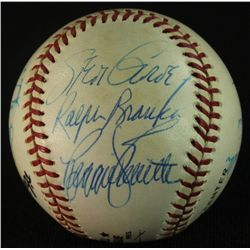 Dodger Greats Baseball Signed by (12) Including Snider, Garvey, Branca, Labine (GA LOA)