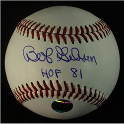 "Bob Gibson Signed Baseball: Inscribed ""HOF 81"" (PSA LOA)"
