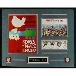 Woodstock Custom Matted 20x16 Photo Display Piece