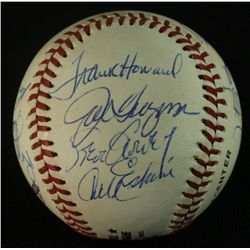 Dodger Greats Baseball Signed by (13) Including Labine, Garvey, Erskine, Cey, Snider (GA LOA)