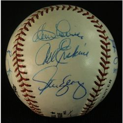 Dodger Greats Baseball Signed by (12) Including Snider, Garvey, Branca, Labine, Erskine (GA LOA)