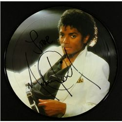 "Michael Jackson Signed Vinyl Record: Inscribed ""Love"" (GA COA)"