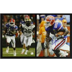 Lot of (2) Brandon James Signed Florida 8x10 Photos (GA COA)