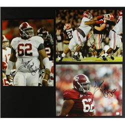 Lot of (5) Terrence Cody Signed Alabama 11x14 Photos (GA COA)