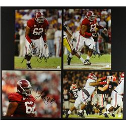 Lot of (4) Terrence Cody Signed Alabama 11x14 Photos (GA)