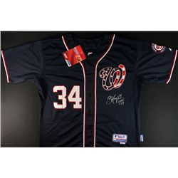 Bryce Harper Signed Nationals Jersey (GA COA)