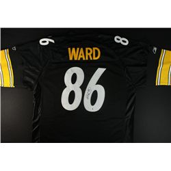 Hines Ward Signed Steelers Jersey (GA COA)