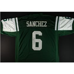 Mark Sanchez Signed Jets Jersey (GA COA)