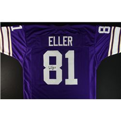 "Carl Eller Signed Vikings Jersey: Inscribed ""HOF 04"" (JSA COA)"