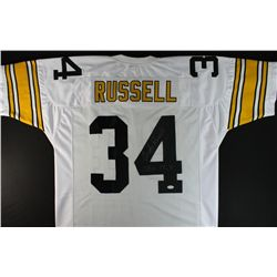 "Andy Russell Signed Steelers Jersey: Inscribed ""SB IX, X"" (JSA COA)"