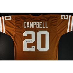 "Earl Campbell Signed Longhorns Jersey: Inscribed ""HT 77"" (AAA COA)"