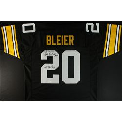 "Rocky Bleier Signed Steelers Jersey: Inscribed ""4X SB Champs"" (JSA COA)"