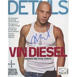 Vin Diesel Signed 8x10 Photo (JSA COA)