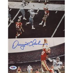 "Dwight Clark Signed 49ers ""The Catch"" 8x10 Photo (PSA COA)"