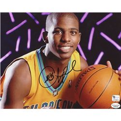 Chris Paul Signed Hornets 8x10 Photo (GA COA)
