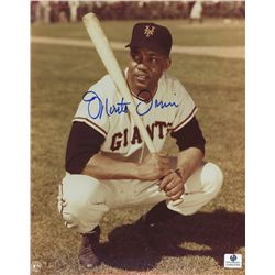 Monte Irvin Signed Giants 8x10 Photo (GA COA)