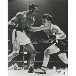 Jake LaMotta Signed 8x10 Photo (GA COA)