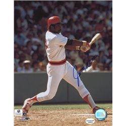 Jim Rice Signed Red Sox 8x10 Photo (GA COA)