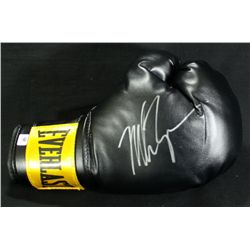 Mike Tyson Signed Boxing Glove (GA COA)